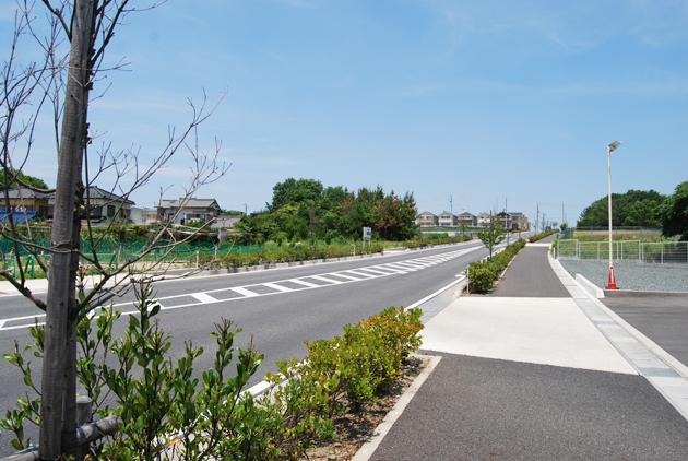 国庫補助事業道路築造工事