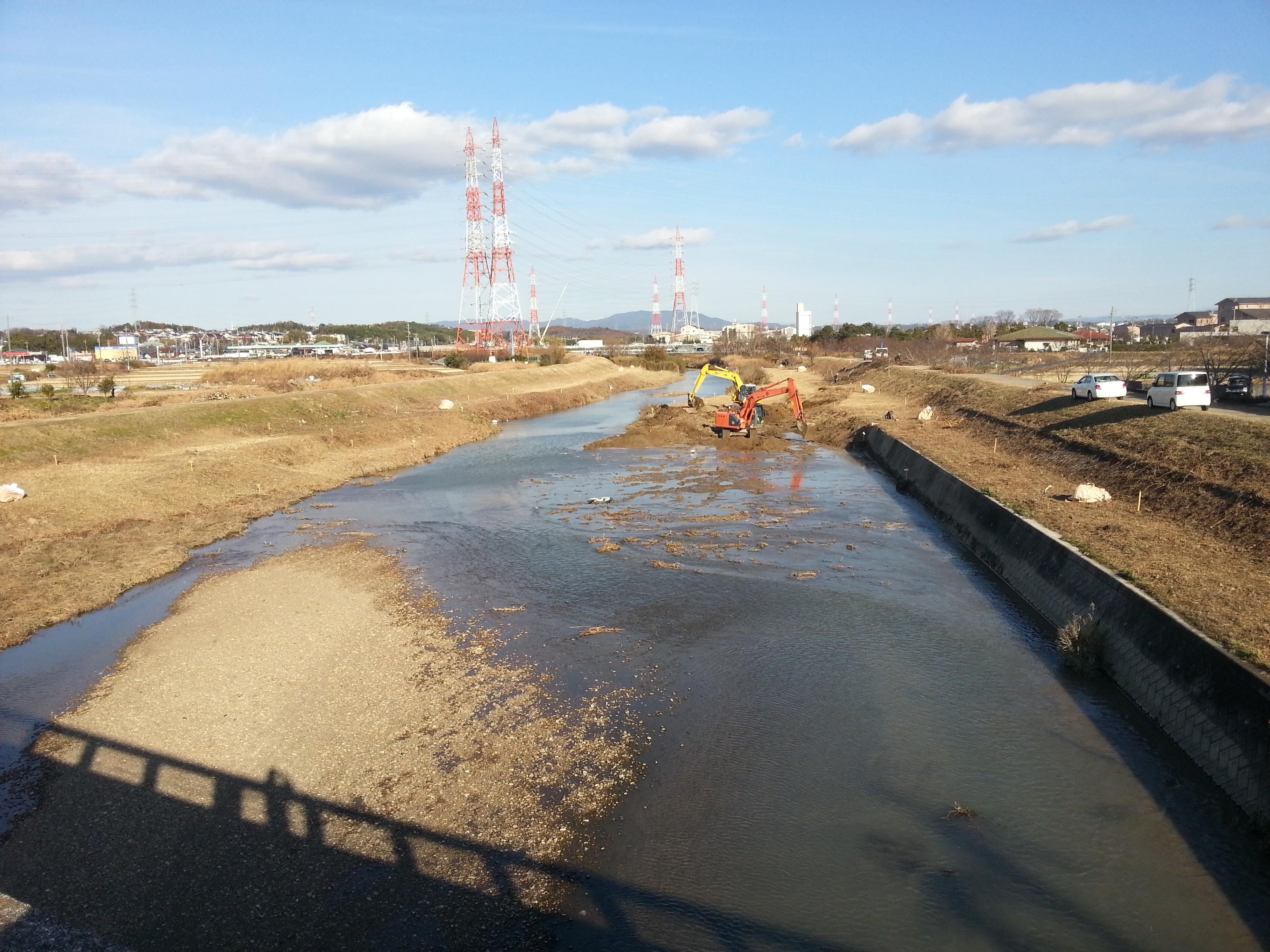 河川環境対策工事